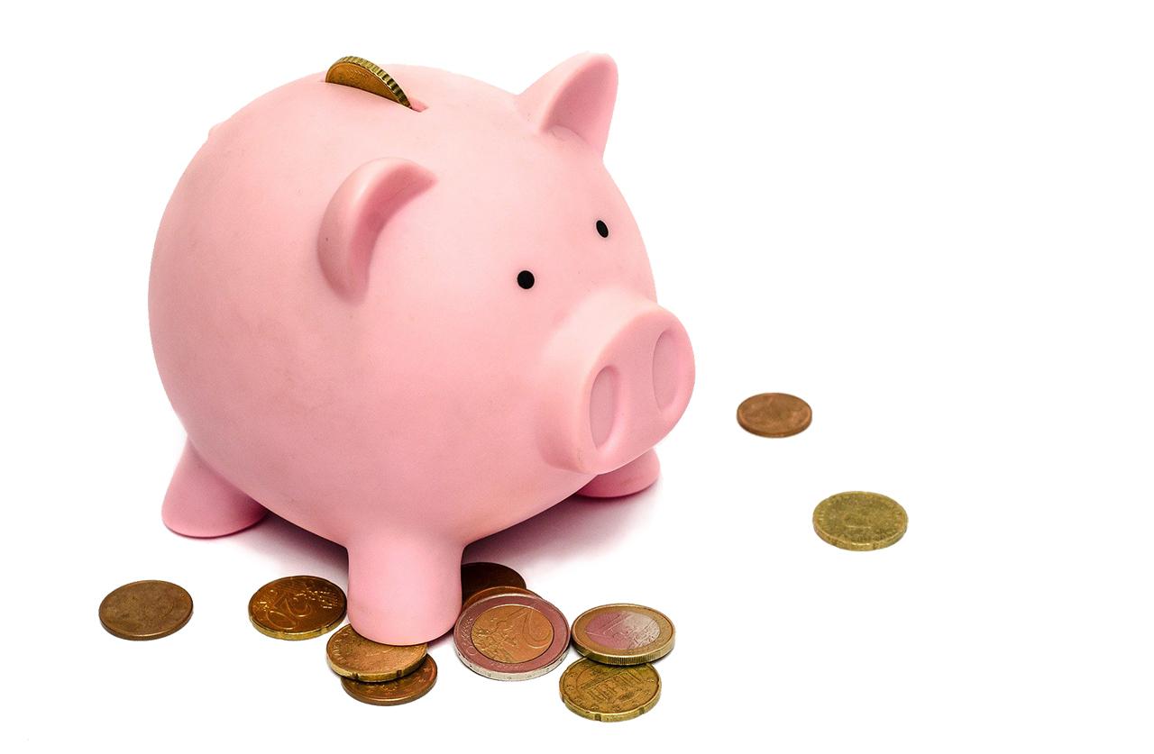 Geldproblemen en sparen